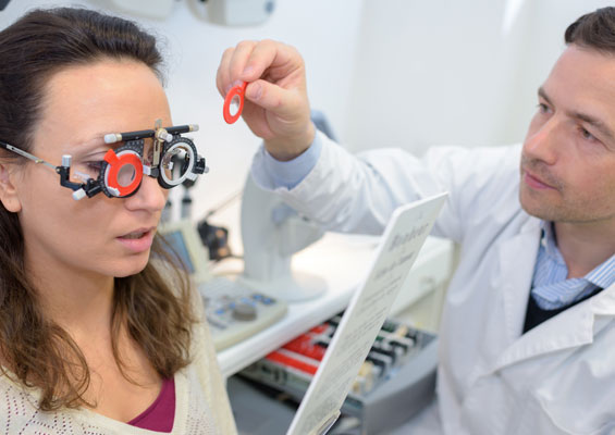 save on your yearly eye check up - Vision Insurance